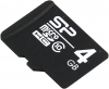 Silicon Power SP004GBSTH010V10, microSDHC 4GB class10